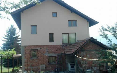 саниране на вила в село Крапац